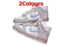 Mens And Women Slam Jam X Nike Dunk High Running Shoes 2 Colors