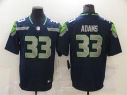 Mens Nfl Seattle Seahawks #33 Jamal Adams Blue Vapor Untouchable Limited Nike Jersey