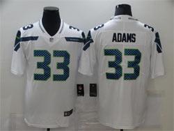 Mens Nfl Seattle Seahawks #33 Jamal Adams White Vapor Untouchable Limited Nike Jersey