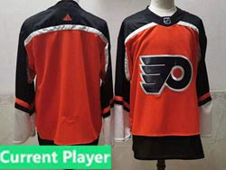 Mens Nhl Philadelphia Flyers Current Player Orange 2021 Reverse Retro Alternate Adidas Jersey
