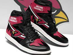 Mens And Women Nfl Arizona Cardinals High Football Shoes One Color