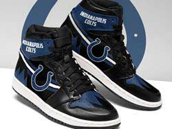 Mens And Women Nfl Indianapolis Colts High Football Shoes One Color