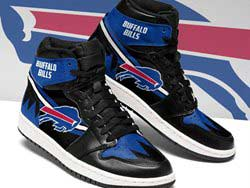 Mens And Women Nfl Buffalo Bills High Football Shoes One Color