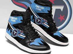 Mens And Women Nfl Tennessee Titans High Football Shoes One Color