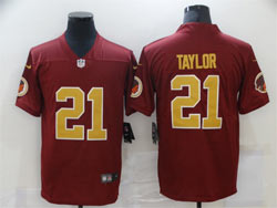 Mens 2021 Nfl Washington Redskins #21 Sean Taylor Red Vapor Untouchable Limited Nike Jersey