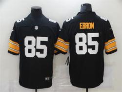Mens Nfl Pittsburgh Steelers #85 Ebron Black Big Number Vapor Untouchable Limited Nike Jersey
