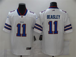 Mens Nfl Buffalo Bills #11 Cole Beasley White Vapor Untouchable Limited Nike Jersey