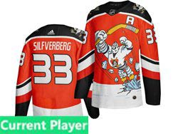 Mens Nhl Anaheim Mighty Ducks Current Player Orange 2021 Reverse Retro Alternate Adidas Jersey