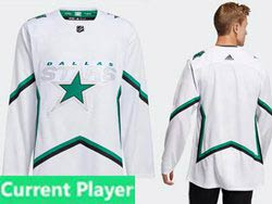 Mens Nhl Dallas Stars Current Player White 2021 Reverse Retro Alternate Adidas Jersey