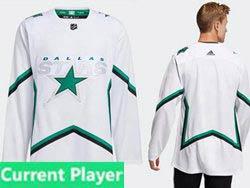 Mens Nhl Dallas Stars Current Player White 2021 Reverse Retro Alternate Adidas Jersey