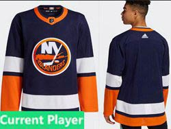 Mens Nhl New York Islanders Current Player Blue 2021 Reverse Retro Alternate Adidas Jersey