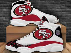 Mens And Women Nfl San Francisco 49ers F14 Football Shoes One Color