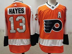 Mens Nhl Philadelphia Flyers #13 Kevin Hayes Orange Adidas Jersey