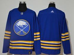 Mens Nhl Buffalo Sabres Blank 2021 Blue Adidas Jersey