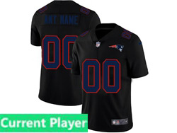 Mens Nfl New England Patriots Current Player 2021 Black 3th Vapor Untouchable Limited Nike Jersey