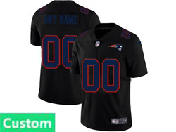 Mens Nfl New England Patriots Custom Made 2021 Black 3th Vapor Untouchable Limited Nike Jersey