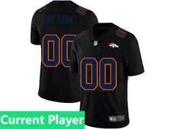 Mens Nfl Denver Broncos Current Player 2021 Black 3th Vapor Untouchable Limited Nike Jersey