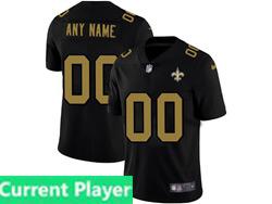 Mens Nfl New Orleans Saints Current Player 2021 Black 3th Vapor Untouchable Limited Nike Jersey