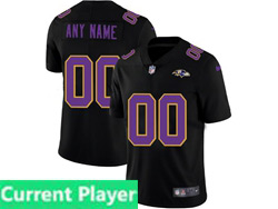 Mens Nfl Baltimore Ravens Current Player 2021 Black 3th Vapor Untouchable Limited Nike Jersey