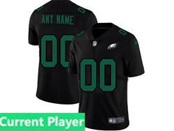Mens Nfl Philadelphia Eagles Current Player 2021 Black 3th Vapor Untouchable Limited Nike Jersey