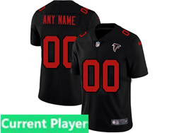 Mens Nfl Atlanta Falcons Current Player 2021 Black 3th Vapor Untouchable Limited Nike Jersey