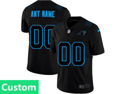 Mens Nfl Carolina Panthers Custom Made 2021 Black 3th Vapor Untouchable Limited Nike Jersey