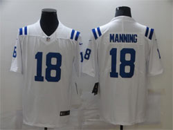 Mens Nfl Indianapolis Colts #18 Peyton Manning White Vapor Untouchable Limited Nike Jersey