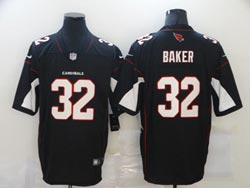 Mens Nfl Arizona Cardinals #32 Budda Baker Black Vapor Untouchable Limited Nike Jersey