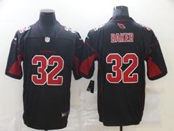 Mens Nfl Arizona Cardinals #32 Budda Baker Black Vapor Untouchable Color Rush Limited Nike Jersey
