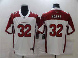 Mens Nfl Arizona Cardinals #32 Budda Baker White Vapor Untouchable Limited Nike Jersey