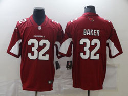 Mens Nfl Arizona Cardinals #32 Budda Baker Red Vapor Untouchable Limited Nike Jersey