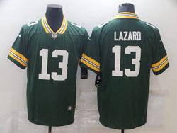 Mens Nfl Green Bay Packers #13 Allen Lazard Green Vapor Untouchable Limited Nike Jersey