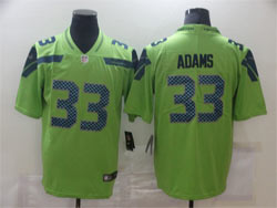 Mens Nfl Seattle Seahawks #33 Jamal Adams Green Vapor Untouchable Limited Nike Jersey