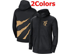 Mens Nba Toronto Raptors Training Clothes Hoodie Jersey With Pocket 2 Colors