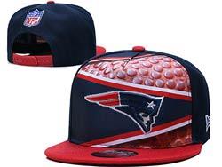 Mens Nfl New England Patriots Falt Snapback Adjustable Hats Multicolor