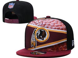 Mens Nfl Washington Redskins Falt Snapback Adjustable Hats Multicolor