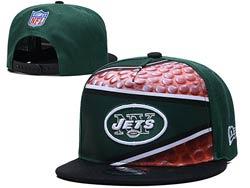 Mens Nfl New York Jets Falt Snapback Adjustable Hats Multicolor