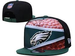 Mens Nfl Philadelphia Eagles Falt Snapback Adjustable Hats Multicolor