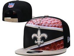 Mens Nfl New Orleans Saints Falt Snapback Adjustable Hats Multicolor
