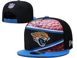 Mens Nfl Jacksonville Jaguars Falt Snapback Adjustable Hats Multicolor
