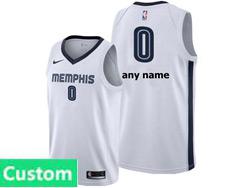 Mens Womens Youth Nba Memphis Grizzlies Custom Made White Association Edition Nike Swingman Jersey
