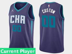 Mens Women Youth 2021 Nba Charlotte Hornets Current Player Jordan Brand Purple Statement Edition Swingman Jersey