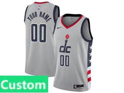 Mens Womens Youth Nba Washington Wizards Custom Made Black City Edition Nike Swingman Jersey