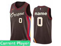 Mens Womens Youth 2021 Nba Portland Trail Blazers Current Player Black City Edition Nike Swingman Jersey
