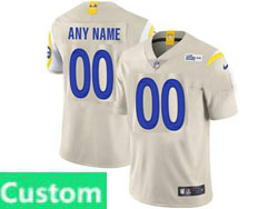 Mens Women Youth Nfl Los Angeles Rams 2020 White Custom Made Vapor Untouchable Limited Jersey