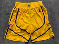 Mens Nba 2021 All Star Yellow Just Don Jordan Shorts