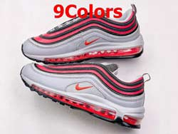 Mens And Women Nike Air Max 97 Low Running Shoes 9 Colors