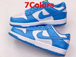 Mens And Women Nike Dunk Low Premium Running Skate Shoes 7 Colors