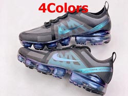 Mens And Women Nike Star Air Vapormax 2019 Low Running Shoes 4 Colors