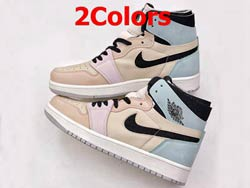 Mens And Women Nike Air Jordan 1 Zoom Comfort Running Shoes 2 Colors